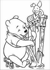 Winnie The Pooh coloring page (086)