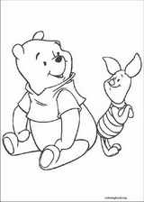 Winnie The Pooh coloring page (087)