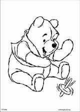 Winnie The Pooh coloring page (101)