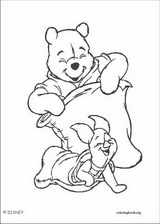 Winnie The Pooh coloring page (108)