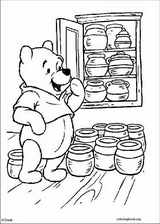 Winnie The Pooh coloring page (112)