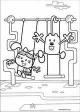Wow! Wow! Wubbzy! coloring page (003)