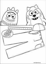 19 yo gabba gabba coloring pages to print off and color - Yo Gabba Gabba Coloring Pages
