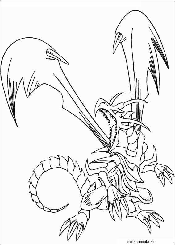 - Yu-Gi-Oh! Coloring Page (013) @ ColoringBook.org