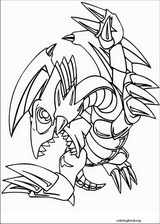 Yu-Gi-Oh! coloring page (004)
