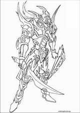 Yu-Gi-Oh! coloring page (005)