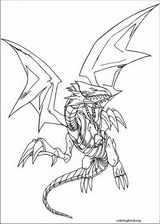 Yu-Gi-Oh! coloring page (010)