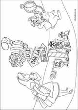 Alice In Wonderland coloring page (004)