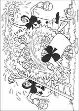 Alice In Wonderland coloring page (006)