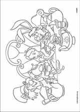 Alice In Wonderland coloring page (017)