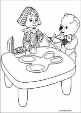 Andy Pandy coloring page (006)
