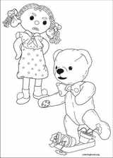 Andy Pandy coloring page (020)
