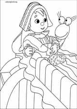 Andy Pandy coloring page (029)