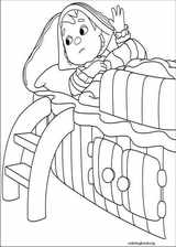 Andy Pandy coloring page (034)