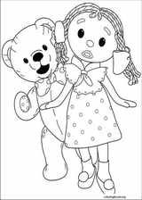 Andy Pandy coloring page (035)