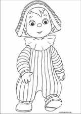 Andy Pandy coloring page (051)