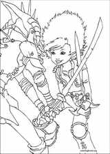 Arthur And The Minimoys coloring page (004)