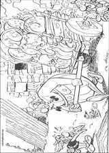 Asterix coloring page (004)