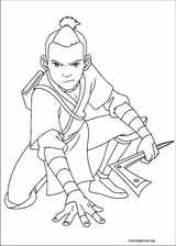Avatar, The Last Airbender coloring page (005)