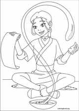 Avatar, The Last Airbender coloring page (019)
