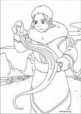Avatar, The Last Airbender coloring page (023)