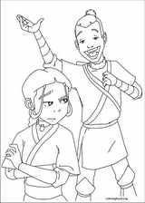 Avatar, The Last Airbender coloring page (025)