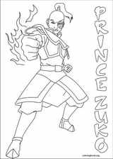 Avatar, The Last Airbender coloring page (050)