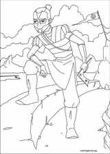 Avatar, The Last Airbender coloring page (052)
