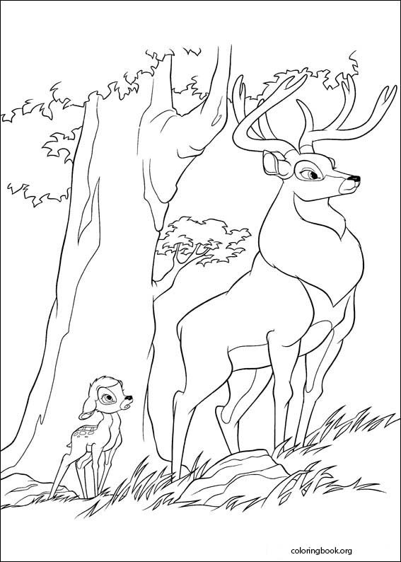 Bambi 2 coloring page (035) @ ColoringBook.org