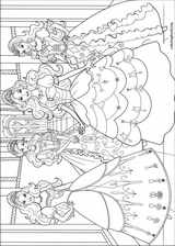Barbie And The Three Musketeers coloring page (013)