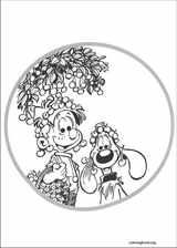 Boule & Bill coloring page (010)