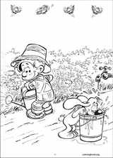 Boule & Bill coloring page (011)