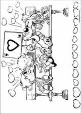 Boule & Bill coloring page (014)
