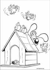 Boule & Bill coloring page (015)