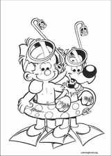 Boule & Bill coloring page (017)