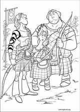 Brave coloring page (055)
