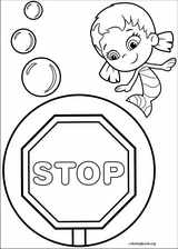 Bubble Guppies coloring page (001)