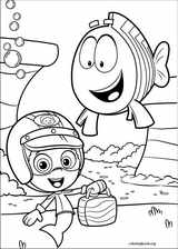 Bubble Guppies coloring page (027)