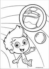 Bubble Guppies coloring page (039)