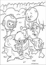 Chicken Little coloring page (034)