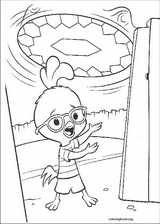 Chicken Little coloring page (039)