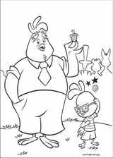 Chicken Little coloring page (084)