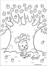 Chicken Little coloring page (086)
