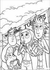Cloudy With A Chance Of Meatballs coloring page (003)