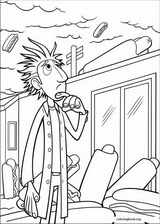 Cloudy With A Chance Of Meatballs coloring page (009)