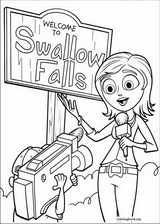 Cloudy With A Chance Of Meatballs coloring page (016)