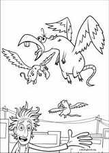 Cloudy With A Chance Of Meatballs coloring page (023)