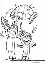 Cloudy With A Chance Of Meatballs coloring page (024)