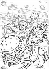 Cloudy With A Chance Of Meatballs coloring page (025)