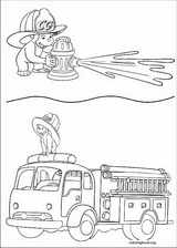 Curious George coloring page (022)